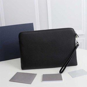 Design luxury wholesale TOP quality purse handbags message black Pochette Prettyplus Clutch Bags Fashion real leather handbag wallet women bag With box
