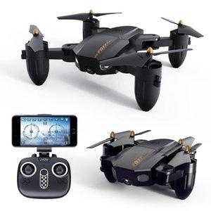 PRCTOWN дистанционного управления Drone FQ777 FQ36 Mini Wi-Fi FPV с 720P HD HD-камерой высоты удержания режима складной RC Drone Quadcopter # X072