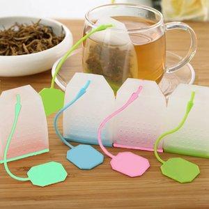 Maille en silicone de qualité alimentaire Thé à café Outils de thé Infuser Filtre d'herbe Spice Filtre Diffuseur Teas Infrasser Makers Accessoires