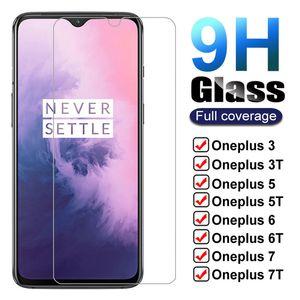 9H Закаленное стекло для OnePlus 7 7T 6T 5T 6 5 3T 3 1 + 7 1 + 6 экрана Protector One Plus OnePlus7 фильм