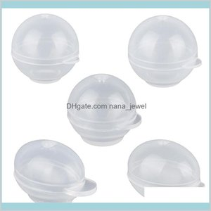 Translucent Silicone Molds For Jewelry Diy Egg Quail Egg Sphere Shape Moulds Uv Resin Epoxy Pendant Jewelry Craft Making Tool 9E3Hp Fvntn