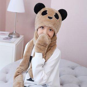 Children's Hat, Scarf, Glove Three Piece Set, Warm in Autumn and Winter