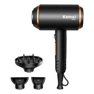 Power Electric Hair Dryer With Overheat Protection System Drying Machine No Injury Water Ions Blower Brushes