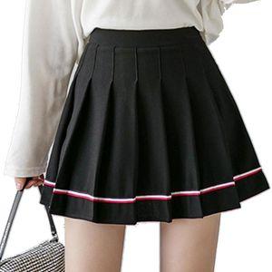 Frauen Hohe Taille Plissee Rock Schule E Mädchen Cosplay Uniform Harajuku Kawaii Nette Koreanische Kleidung Skorts Golf Tennis Miniskirt Röcke
