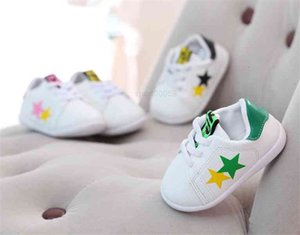 Leather Mesh Sport Toddler Girl Boys Sneakers Baby Infant Tennis Shoes For Kids