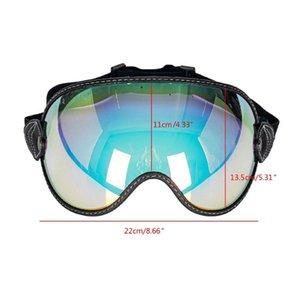 Motorcycle Helmets T8WF Universal Helmet Windproof Shield Lens Retro Visor With UV400 Protection Accessories