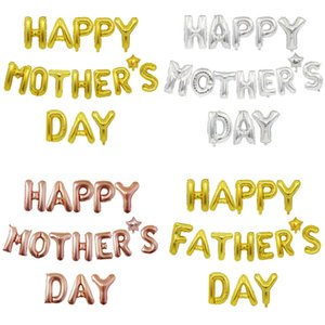 HAPPY MOTHER'S DAY Balloons 10 inch Big Size Letters Balloon Love Mum Mother Day party decoration ornaments surprise G34MBEM