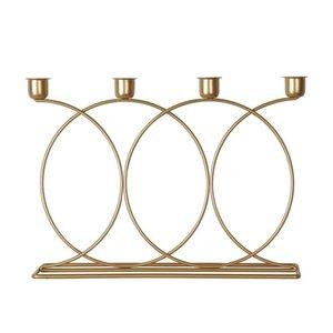 Candle Holders Creative Geometric Holder Restaurant Desk Decor Ornaments Home Decoration Accessories Ramantic Dinner Craft