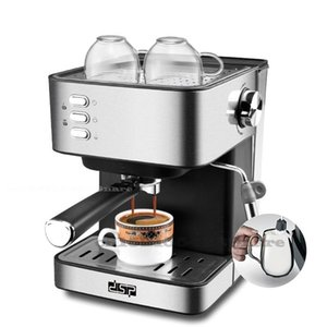 Small Home Coffee Machine Office Espresso Semi-automatic Steam Wand Milk Frother Cappuccino Integrated Roasters
