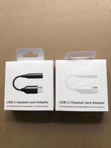 Type-C to 3.5mm Earphone cable Adapter USB-C male to 3.5 AUX audio female Jack for Samsung note 10 20 plus