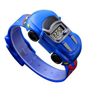 Cartoon Children Gift Watch Toy for Shape Boy Baby Fashion Kids Electronic es Innovative 21ss