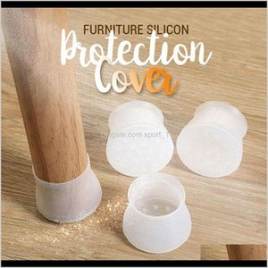 100Pcs Furniture Sil Protection Cover Chair Leg Caps Sile Floor Protector Round Furniture Table Feet Cover Furniture Lklvz Ej69M