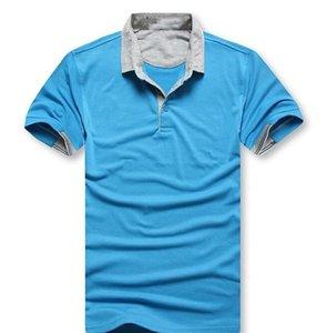 BOSS T-shirts 2021 Trend Männer Luxus Designer Polos Mode Lässige Hemd Revers Kleid Herren Designer Polo T Shirts