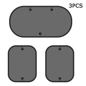 Car Sunshade Window Shade 3 Pack Foldable 17.5