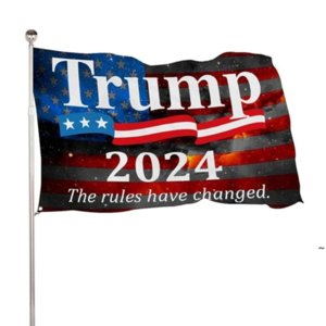 DHL SHIP Trump 2024 Take American Back 90*150cm Flags Presidential Election Banner Flags 3*5 Feet Digit Print 100D Polyester OWA4551