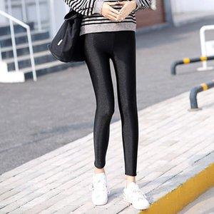 Donne calde leggings invernali pantaloni da donna a vita alta grande dimensione table stretta velluto pantaloni elastici in cashmere