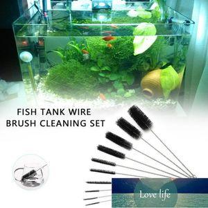 Cleaning Tools Aquarium Pipe Brush Fish Tank Tube Cleaner Set Drinking Straw Glasses Keyboard Jewelry Bottle Jar Household Kit