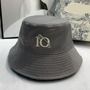 Женщины повседневные ковшевые шляпы дизайнеры колпачки шляпы мужские гусеницы реверсивное лето приступна рыбака пляжная шапка капота солнца Casquette Beanie Sunhat