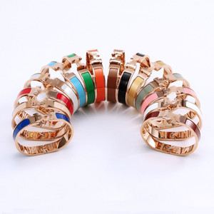 Cleef Bracelet herme Ladies rings Pendant Necklaces Screw Van Party Wedding Couple Gift Love Fashion Luxury Designer carti size #17 H03