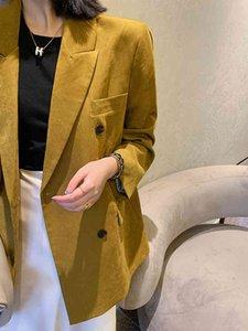 Blazers Kiesza Lyte Blazer Blazer Femme Double Mode Lady Outwear Veste Automne