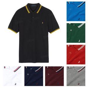 Роскошные мужские женские футболки поло рубашка поло высокого качества Вышивка классический старший повседневный Homme с короткими рукавами мужские хлопчатобумажные удобные тренды лето