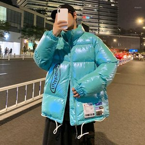 Winter Thick Puffer Jacket for Mens 2020 Fashion Trends Warm Clothing Teen Boys Bright Waterproof Ski Padded Fluffy Bubble Coats1