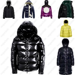 Mens Down Coat Winter Thick Down Parkas Fashion Letters & Embroidery Badge Boys Windproof Jackets Classic &2021 AW 19 Styles Wholesale