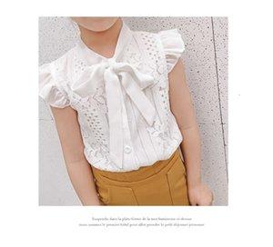 Sets Suits girls' print 2021 summer Zhongda children's Korean off shoulder short sleeve half Skirt two piece Set