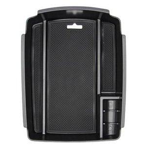 For Kia Sportage QL 2021 Central Console Control Armrest Storage Box Bin Organizer Tray Pallet Holder Car Accessories