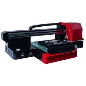 Printing Machine Flatbed Printer For Clothes T-Shirt Logo Po DIY Customization With Tray Press Factory Direct Printers
