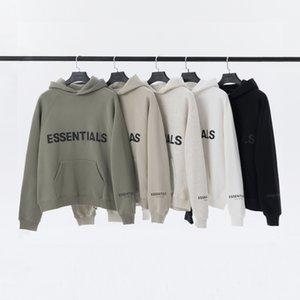Top Quality Designer Felpe con cappuccio Test Uomo Donne Panno 100% Off Cotton Essentials Moda Casual Casuals Luxury TrackSuits Popular God Grey Style