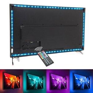 Cabinet Lamp Closet Wardrobe Cupboard LED Strip Light USB 5V RGB Flexible IR TV Backlight Household Kitchen Lighting Decor Strips