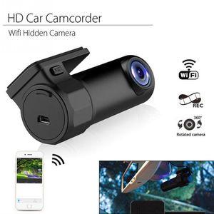 Wifi Car DVR Video Recorder Camcorder Mini HD Hidden Dash Camera Support G-Sensor Night Vision AVI JPG USB3.0 Parking Monitoring DVRs