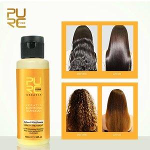 PURC 12% Straightening hair Repair damage frizzy hair Brazilian keratin Banana Green Apple 2 flavors 100ml