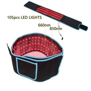 850nm 650nm Red Light Low Level Laser Fat Loss Slimming Belt Cold Laser Therapy Device For Back Pain