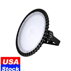 LED UFO High Bay Shop Light 300W Cool White 6500K IP65 Waterproof Fixture Commercial Lighting in Factory,Shop,Industrial barn,USA Stock