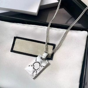 Long Section Desingers Necklace Fashion Charm Retro Style Top Quality Silver color Leisure Pendants for Unisex Jewelry Supply good nice pretty