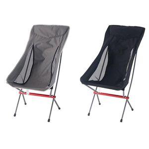 Seyahat Katlanır Sandalye Superhard Yüksek Yük Kamp Taşınabilir Plaj Yürüyüş Piknik Koltuk Balıkçılık Araçları Açık Aksesuarları