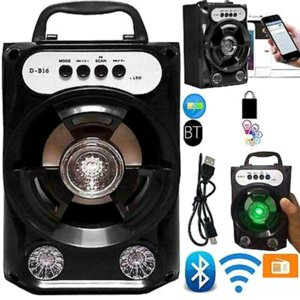 Bluetooth Speaker Portable Big Power Wireless Stereo Subwoofer Heavy Bass Speakers Sound Box Support FM Radio TF AUX USB