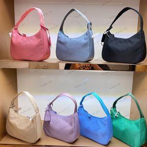 2021 Women's Top Quality Handbag Nylon Leather Single Shoulder Bag Designer Luxury Handbag Fashion is also under the Bag New 2000 Handhold Bag