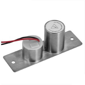Electric Drop Bolt 2 Wires DC 12V Easy Embed Install Induction Auto Electronic Door Lock Cylinder Body
