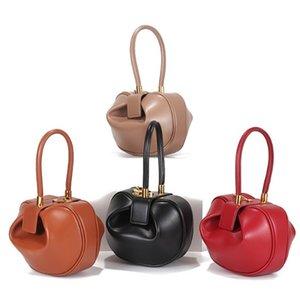 Bolsos de diseñador Últimas mujeres Totes casuales NAPA Cuero Bolsa de bola de masa muply Bolsa de cruz 21 cm, 16 cm Dos tamaños