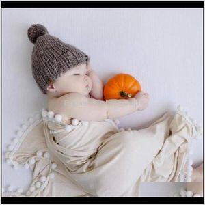 Baby Wrap Muslin Cotton Born Blanket Pram Cradle Cover Pography Accessories 5 Colors Dw5854 Ezymj Swaddling Kc8Je