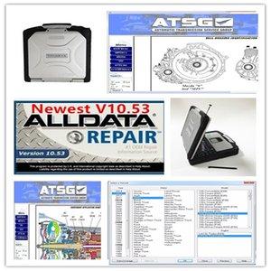 جميع إصلاح البيانات Soft-Ware Alldata Mit OD5 و ATSG Soft-Ware في 1TB HDD مثبتة جيدا في CF30 4GB RAM المحمول