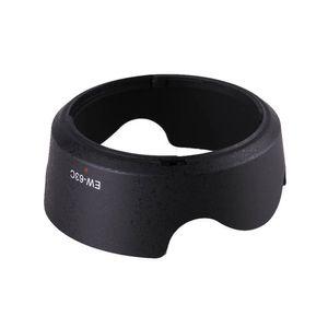 Lens Hood Black ABS 10pcs EW-63C For Canon EF-S 18-55mm f 3.5-5.6 IS STM 58mm Camera Protetor