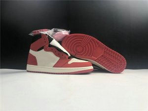 Good Quality 1 Cactus Jack Man Basketball Designer Shoes Red Black White Fashion Chaussures Trainers Come With Box