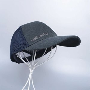 ball caps 26225 summer men's letters embroidered mesh panel adjustable baseball duck tongue hat 1210