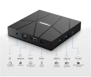 Android 10.0 T95H Tv Box MXQ PRO Quad Core 8GB 16GB 32GB 64GB Streaming Media Player Smart Set Top 2.4G Wifi