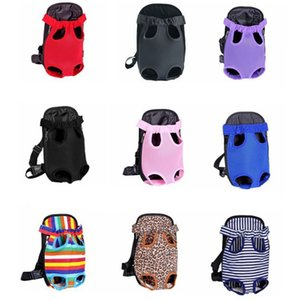 Pet Supplies Pets Carrier Breathable Travel Shoulder Chest Bags Dog Going Out Backpack dogs bag many styles