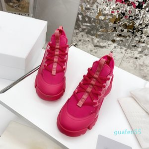 designer Fashion High Quality Women Shoe Casuals Genuine Leather Sneakers Mesh Breathable Platform Casual Tennis Shoes